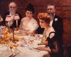 Edwardian Dinner