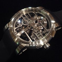 RJ Romain Jerome. The SkyLab Heavy Metal skeleton. Handwound, meticulous, technical skeleton!