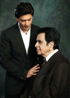 Stars align. #Shahrukh #Dilip #Bollywood