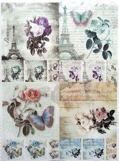 Rice Decoupage Paper / Decoupage Sheets  / Scrapbooking / Beauty photos