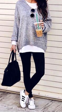 Liquid Leggings #fashionoutfits