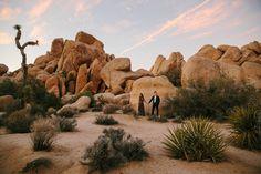 Joshua Tree Desert Engagement Shoot California Modern Contemporary Love Couple Sunset Double Exposure Nature Photojournalism Travel