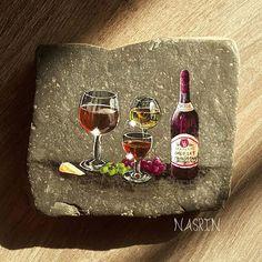 نقاشی روی سنگ رنگ ثابت قابل شستشو حدود ابعاد ۱۰ در ۹ سانتیمتر قیمت ۴۵۰۰۰ تومان ⚠فروخته شد  09378190702  #stonepainting #نقاشی_روی_سنگ #stoneart #stonepaintingart