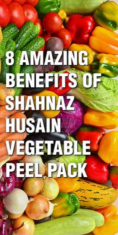 This season say goodbye to dark spots and ugly pigmentation with the Veg. Peel Pack introduced by Shahnaz Husain.