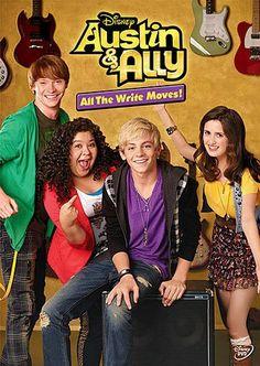 Austin Ally Adventures All The Write Moves DVD 2013 | eBay