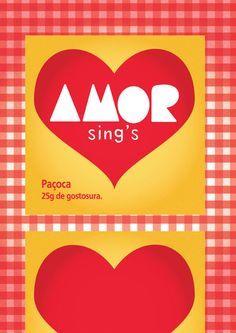 Download: Pôster Paçoca Amor #diadosnamorados