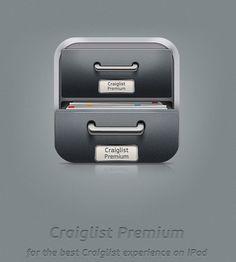 Craigslist Premium iPad UI design by Vadim Sherbakov, via Behance