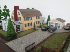 The Amityville House HO Scale Furnished Dollhouse by EmmyNHiros