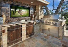Codys dream outdoor kitchen