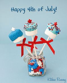 Guess I will have to make these for 4th of July too!!!