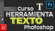 🔴 Herramienta de TEXTO en PHOTOSHOP | curso de Photoshop ⭐⭐⭐⭐⭐
