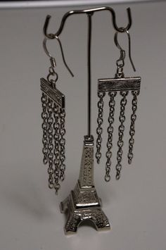 Layered Chain Earrings Made in Canada by LinksLocks on Etsy, $10.00