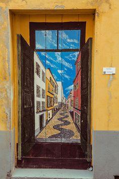 Rua de Santa Maria N. 1, via Flickr.