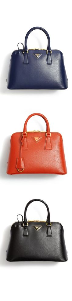 The Classic Saffiano Prada bag. Love everything about this purse!! PRADA…