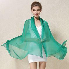 100% Natural Silk Scarf Shawl Female Pure Silk Scarves Wraps Sol for WOMAN   eBay