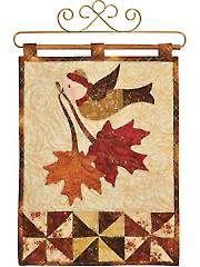 Quilt - Vintage Blessings November Wall Hanging Pattern or Laser-Cut Kit - #429712