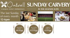 Sunday Carvery At Oakwell!