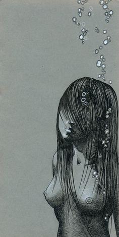 """underwater""   freeminds on society6"