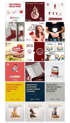 Social Media - HEMOVIDA on Behance Social Media Art, Social Media Banner, Social Media Design, Instagram Design, Instagram Posts, Web Design, Instagram Banner, Best Facebook, Marketing