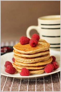 Lekkie pancakes na serku