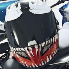 HJC Marvel Motorcycle Helmet RPHA 11 Venom Edition