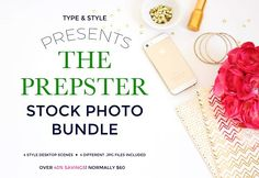 Stock Photo Bundle - Prepster by Type & Style on @creativemarket