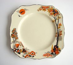 Hey, I found this really awesome Etsy listing at https://www.etsy.com/listing/204367378/j-g-meakin-sylvania-pattern-dinner-plate