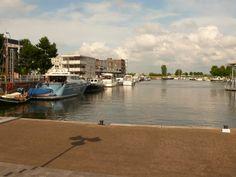 Port in the center of Zeewolde.
