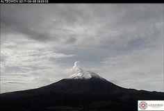 Reporte de actividad del volcán #Popocatépetl - México, novedades y realidades