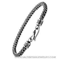 Handmade Tibetan Silver Bracelet Retro Bracelet