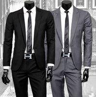 Trajes de negocios casuales los hombres # 039; s de dos piezas de los hombres…