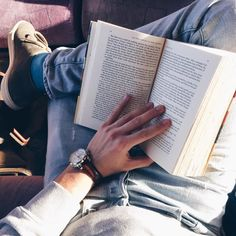 """esarkaye: """" The train is meant for reading. ☀️ """""""