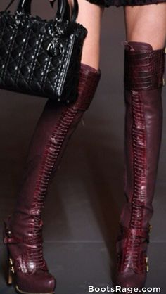 Wonderful leather boots Fall 2013 - Women Boots And Booties
