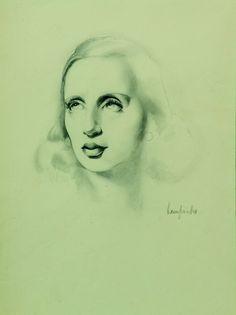 Tamara de Lempicka Self Portrait - 1936
