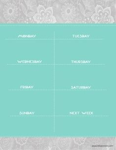 Free printable weekly calendar. Customize online before you print. Instant download. Free Printable Weekly Calendar, Weekly Planner Template, Free Printables, Colorful, Templates, Design, Models, Free Printable