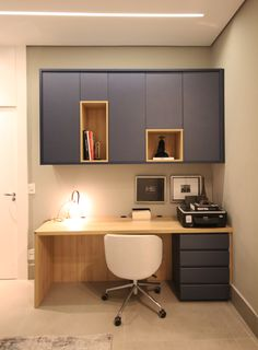 Bedroom Setup, Room Design Bedroom, Bedroom Furniture Design, Home Room Design, Home Decor Bedroom, Study Table Designs, Study Room Design, Study Room Decor, Office Interior Design