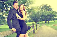 Country Club photo shoot with my husband :) <3 Editorial fashion photography  Lifestyle Portrait Couples modeling