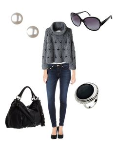 outfits for teens | ... Gray & Sophisticated Ease Makes for the Perfect Outfit | Fab You Bliss