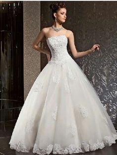 Cooer wedding dress with