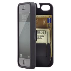 iPhone® 5 Pocket Case & Mirror | SALE $21.99  Great idea for those 20-somethings that don't carry a purse!