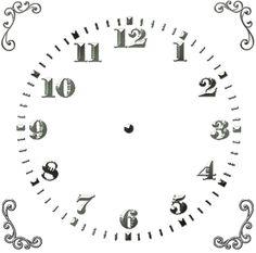 TG: Square Clock Face
