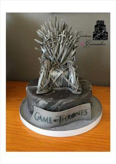 game of thrones cake // gâteau en pâte à sucre game of thrones