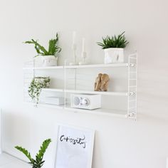 The iconic String® pocket is String Furniture's smallest shelving system – a small bookcase that will fit almost anywhere. The shelving system is easy Decor, Furniture, Small Bookcase, Shelves, Interior, Bookshelf Decor, Home Decor, Shelf Decor, Shelving