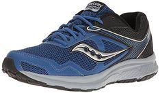 more photos 093cb 8efb9 Saucony Men s Cohesion 10 Running Shoe, Royal Black, 8.5 M US Best Trail