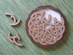 Interlace Pretzel Celtic Puzzle