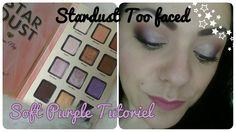 Soft purple Tuto Stardust Too faced
