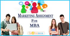 Get best marketing assignment help online for your MBA marketing projects from qualify assignment expert writers and assignment Samples of Marketing Plan, strategy, Research etc. Get a free quote & 24/7 Service!