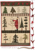 Pattern from Quiltmania magazine special winter edition 2010