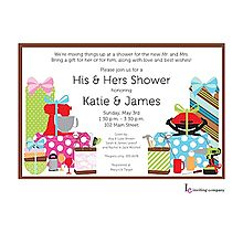 Celebrate the bride and groom with a couple's shower! designs to personalize and make your own. Make Your Own, Make It Yourself, Couples Shower Invitations, Couple Shower, Shower Party, Diy Crafts