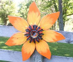 My latest: I think I had the most fun creating this one: Fall Outdoor Reclaimed Barn Wood Flower Wreath Fall by SouvenirFarm $65.00.